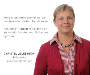 Sagt om Anna – ChristelLiljeström