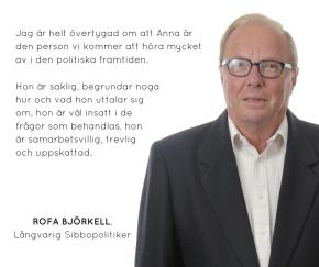 Sagt om Anna – RofaBjörkell